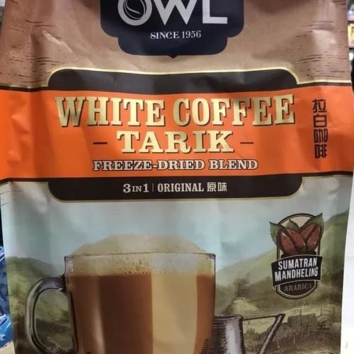 Foto Produk OWL WHITE COFFEE TARIK 3 IN 1 (Sachet) ORIGINAL dari foodsupply.co
