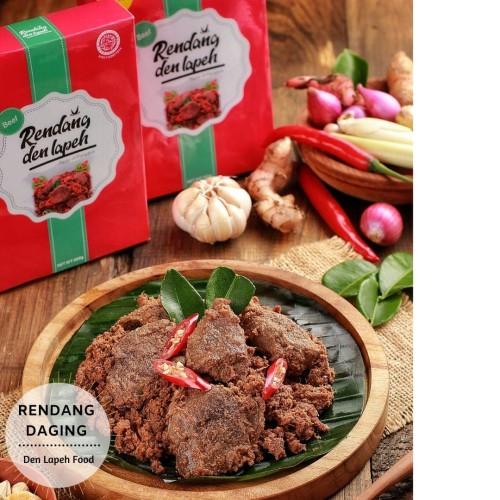 Foto Produk Rendang Den Lapeh ( Rendang Daging Sapi) dari Siomay Aisha Frozen