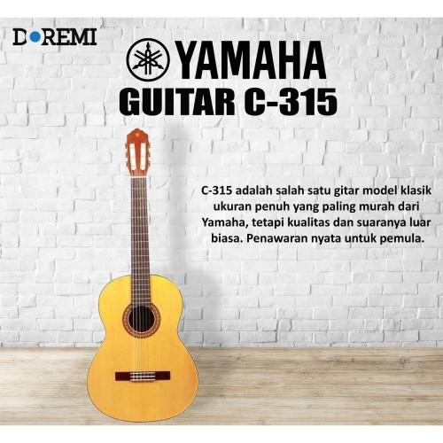 Foto Produk Gitar Klasik Yamaha C 315 / C315 / C-315 Original dari PT Doremi Music
