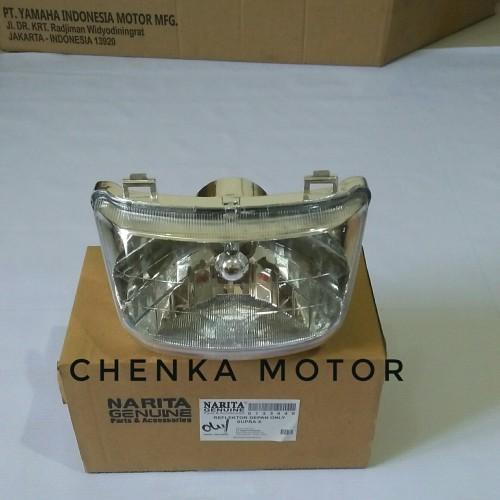 Foto Produk reflektor lampu depan honda supra x lama dari Chenka Jaya