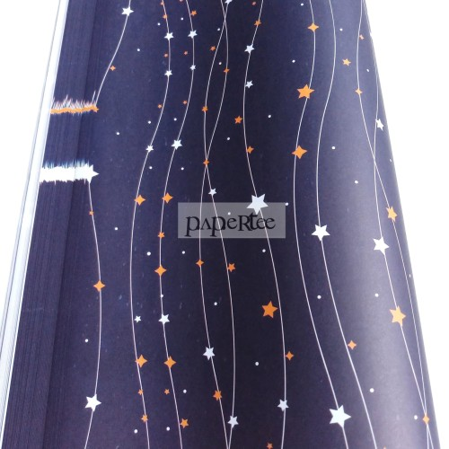 Foto Produk Kertas Kado Bintang Galaxy Star Wrapping Paper dari Paper Tee