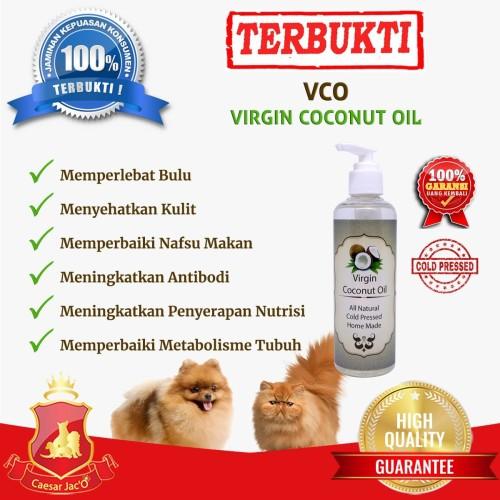 Foto Produk Multivitamin Skin & Coat + Immune Booster VCO 100ml dari Caesar Jac'O