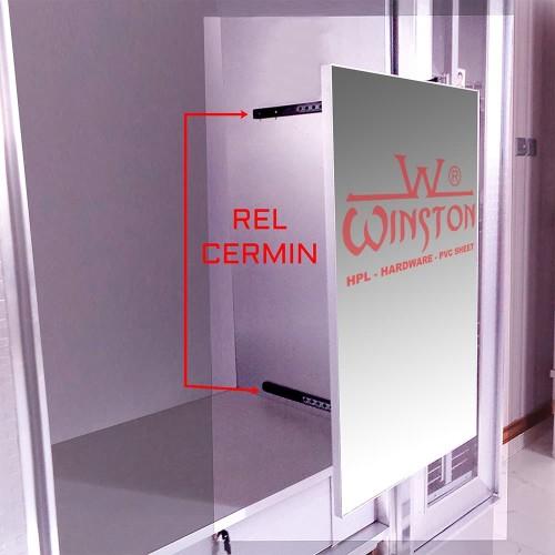Foto Produk Rel Cermin Lemari Rel Cermin Geser Winston dari WINSTON-OK OFFICIAL STORE
