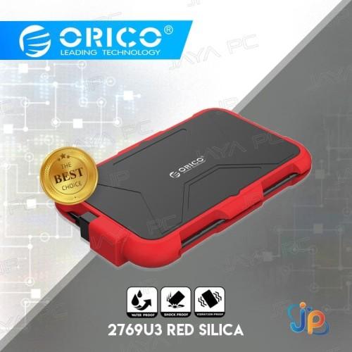 "Foto Produk Orico 2769U3 External Case HDD/SSD 2.5"" Enclosure Shock & Water Proof dari Jaya PC"