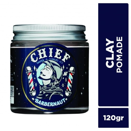 Foto Produk CHIEF POMADE SPACE CLAY 120GR GLASS JAR dari CHIEF OFFICIAL STORE