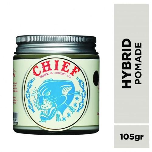Foto Produk CHIEF POMADE HYBRID UNORTHODOX 105GR GLASS JAR dari CHIEF OFFICIAL STORE