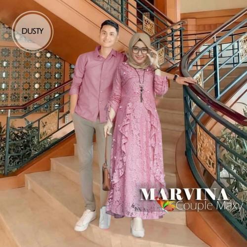 Foto Produk Couple Marvina Maxy Brukat dari HER'Z SHOP