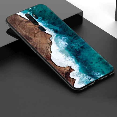 Foto Produk [NEW] Case Oppo A5 2020 / A9 2020 Silikon Premium Slim Matte Custom dari Doki Custom Case