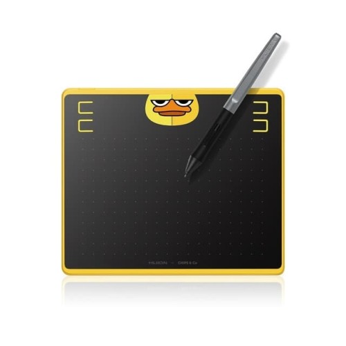 Foto Produk HUION HS64 CHIPS & Co Pen Tablet support HP Android For Drawing dari PojokITcom Pusat IT Comp