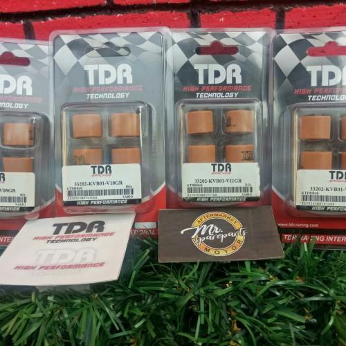 Foto Produk Roller TDR Beat POP ESP 110cc 8gr, 9gr, 10gr, 11gr, 12gr dari MRS Motor