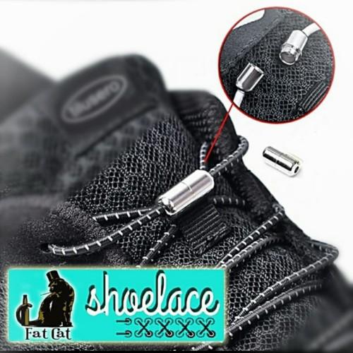 Foto Produk FatCat TaliSepatu Shoelaces Elastis Easy Tali Sepatu Lazy shoes ikat dari Milo Acc