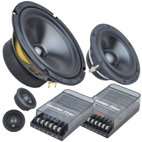 Foto Produk Ground Zero GZRC 165.3SQ - Speaker 3way audio mobil dari Ground Zero Audio