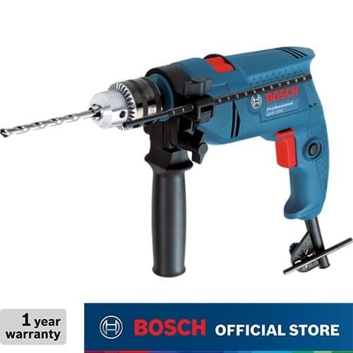 Foto Produk Bosch Impact Drill / Bor Tangan Listrik Impact 13MM 550Watt GSB 550 dari Bosch Power Tools