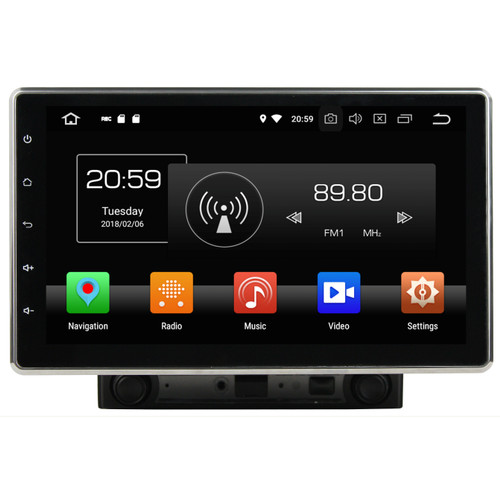 Foto Produk Headunit Android 10inch Asuka AK-2000 dari Asuka Car TV Shop