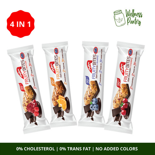 Foto Produk Poppins - Fruity Bites Cereal Bar Variety Pack / 4 IN 1 / Snack Sereal dari The Wellness Pantry