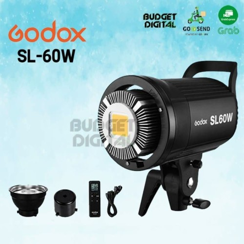 Foto Produk GODOX SL-60W VIDEO LED BOWENS MOUNT SL60W WHITE LED dari BudgetDigital