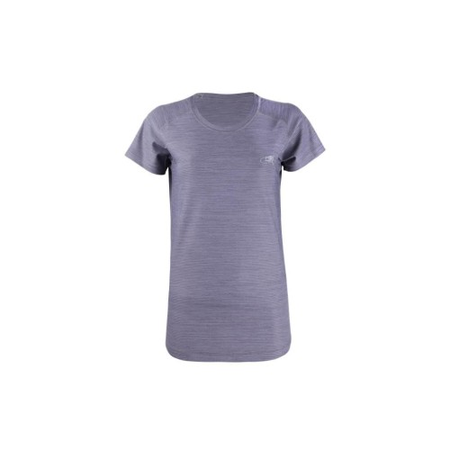 Foto Produk DK Running Jersey SS (Woman) Basic Color Tee Grey - S dari Duraking Outdoor&Sports