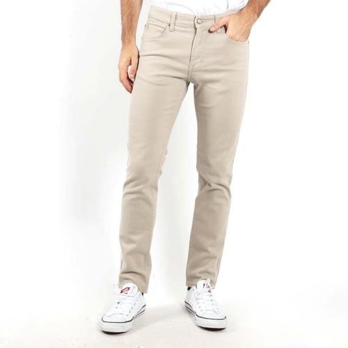Foto Produk Edwin Celana Jeans Alaska Cream Reguler Fit Stretch Pria Panjang Cream - 35 dari Edwin Jeans