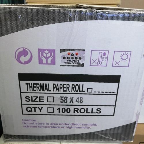 Foto Produk kertas Termal / Thermal paper roll 58 X 48 Khusus dari smart buyer solution