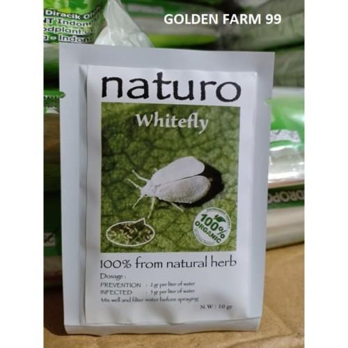 Foto Produk Pestisida nabati / Pesnab organic Naturo Whitefly harga terjangkau dari Golden Farm 99
