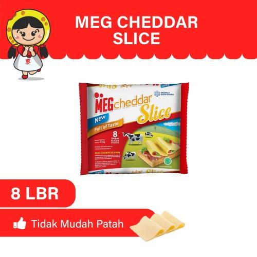 Foto Produk MEG Cheddar Slice 8 Slices dari MEG Cheese Indonesia