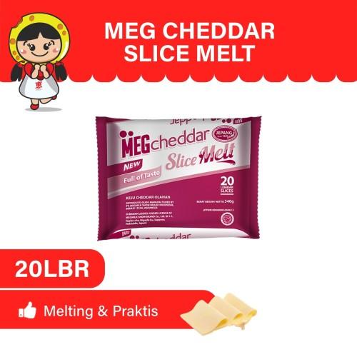 Foto Produk MEG Cheddar Slice Melt 20 slices dari MEG Cheese Indonesia