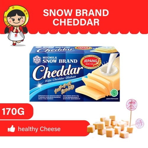 Foto Produk MEG Snow Brand Cheddar 170 gr dari MEG Cheese Indonesia
