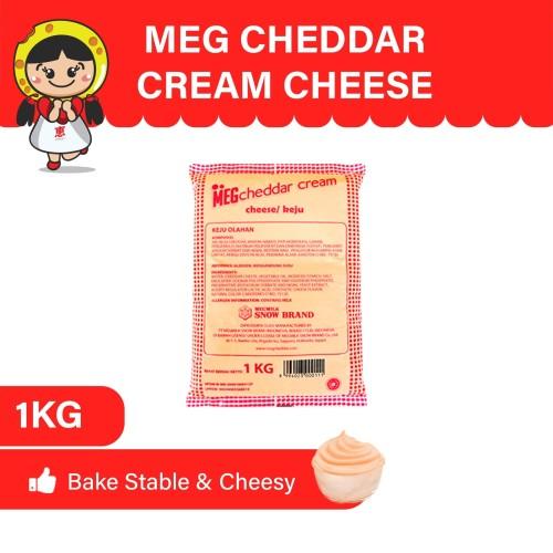 Foto Produk MEG Cheddar Cream Keju 1 Kg dari MEG Cheese Indonesia