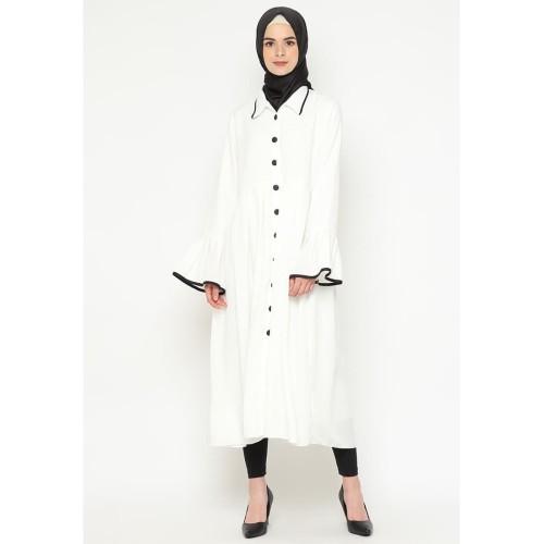 Foto Produk Heaven Sent - Tunik Muslim Terbaru Adila White - M dari Heaven Sent Official