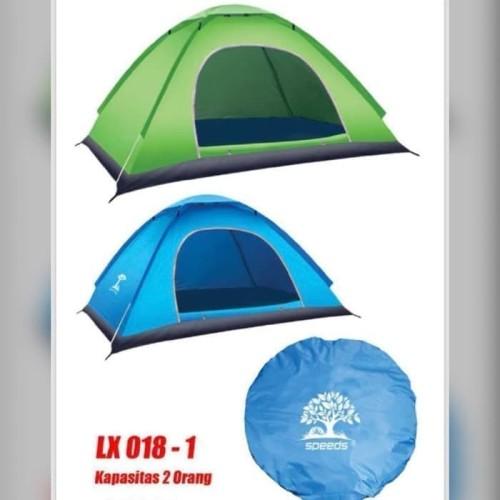 Foto Produk Tenda Camping /Kemah/Outdoor/Pantai speeds 2-3orang 200x150 lx008-1 - dari serbu sport