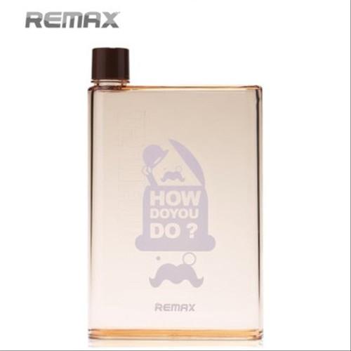 Foto Produk Remax A5 Letter Reusable 420ml RCUP-N420 Botol Minum Kotak Gepeng dari Nur Fitriyah11