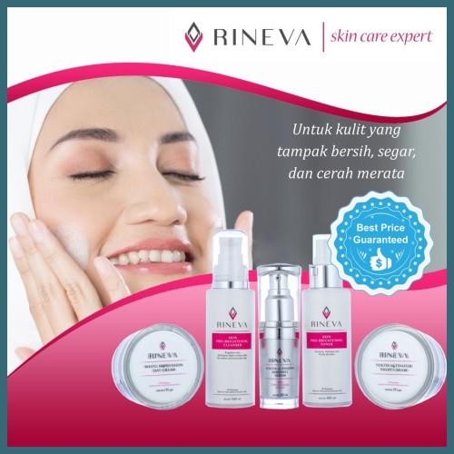 Foto Produk Promo Whitening Series Rineva Skincare Halal Original dari Si Cantik Alami