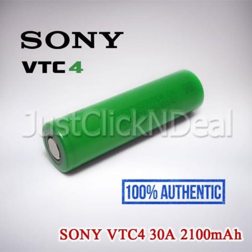 Foto Produk Baterai 18650 Sony VTC4 30A 2100mAh Authentic dari DX Online Store