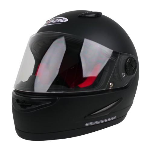 Foto Produk Helm Cargloss Racer SPOILER Helm Full Face - Black Doff dari Helm Cargloss