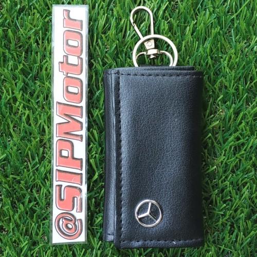 Foto Produk Dompet Kulit Mercy Mercedes Benz Gantungan Kunci STNK Mobil dari SIPMotor