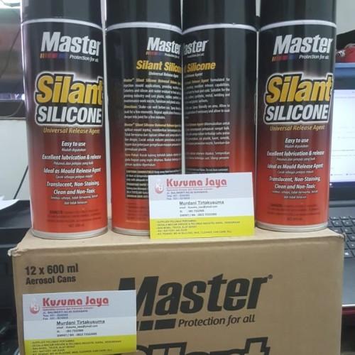Foto Produk Master Silant Silicone Silicon spray / Pelumas serbaguna nonsticky dari grosir pelumas surabaya