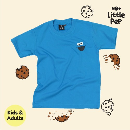 Foto Produk COOKIE MONSTER Kids&Dewasa - KIDS 4-5Y dari little.pep