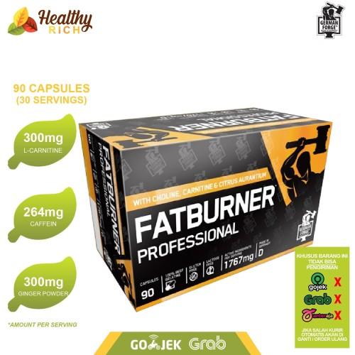Foto Produk GERMAN FORGE FAT BURNER PROFESSIONAL 90 CAPS pembakar lemak penurun bb dari Healthy Rich
