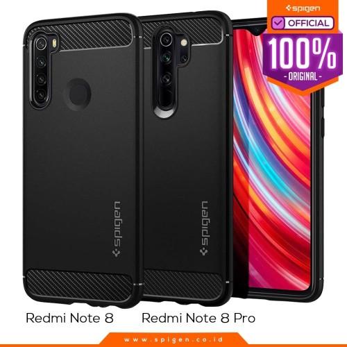 Foto Produk Case Redmi Note 8 Pro / Note 8 Spigen Rugged Armor Carbon Fiber Casing - Note 8 dari Spigen Official