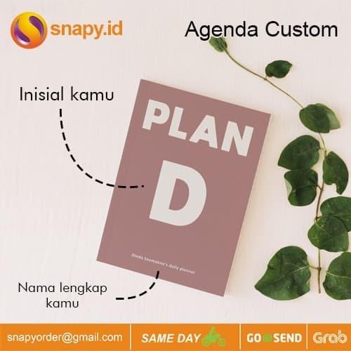 Foto Produk Cetak Agenda Custom | Notebook Custom Hardcover | Buku Planner - BINDING dari snapy