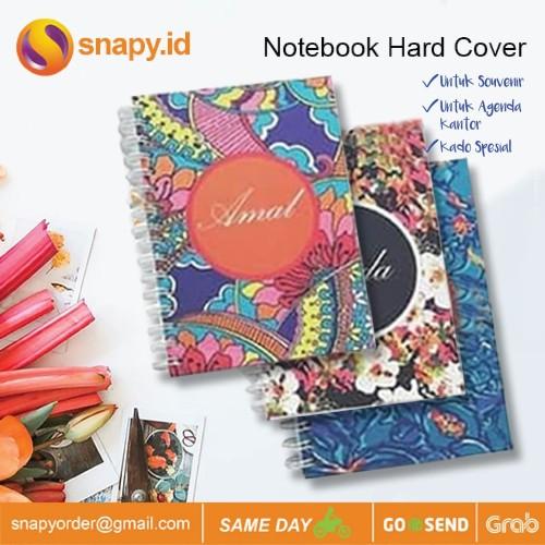 Foto Produk Notebook Custom Hardcover BARU - RING 50 LBR dari snapy