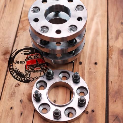 Foto Produk Adaptor Velg roda 2cm H5x114 ke H5x120 Inova ke BMW CRV ke BMW dll dari Jeep Aksesoris