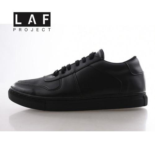 Foto Produk Sepatu Sneakers Pria Hitam Full Black Original Air Adam LAF Project - 40 dari LAF Project