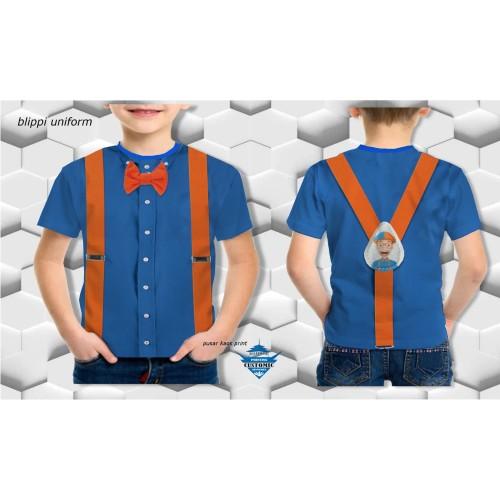 Foto Produk kaos anak blippi- blippi suit-kaos printing - kaos customic 3d dari Oto Care