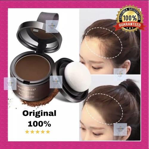 Foto Produk MAYCHEER Cover Hairline Shadow Powder Hair /Penutup Warna Kulit Rambut - Carrot color dari SS TheGoodStuff