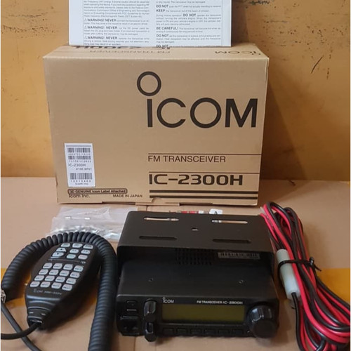 Foto Produk RADIO Rig mobile ht iCom IC - 2300 H / IC2300 65Watt ICOM 2300H VHF dari TRENDY-GOODS