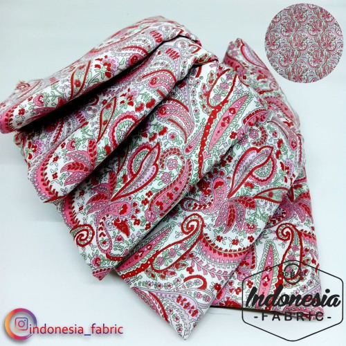 Foto Produk Kain Bahan Katun Jepang Design Tokai Gamis Tunik Seragam motif KJ224 - nomor 2 dari Toko Kain Grosir