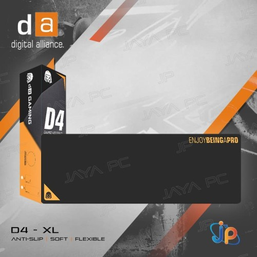 Foto Produk Mousepad Gaming Digital Alliance D4 XL - Mouse Pad D4 Extra Large Size dari Jaya PC