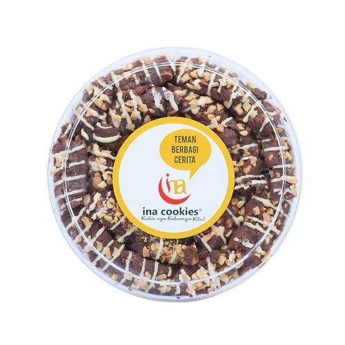 Foto Produk KUE KERING INA COOKIES SKIPPY MEDE COKLAT dari Inacookies Official