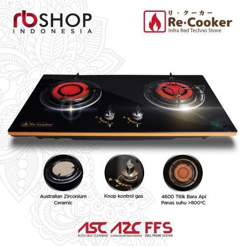 Foto Produk ReCooker Infra red Techno Stove | Kompor Tanam Infrared 2 Tungku dari Damian's Kitchen